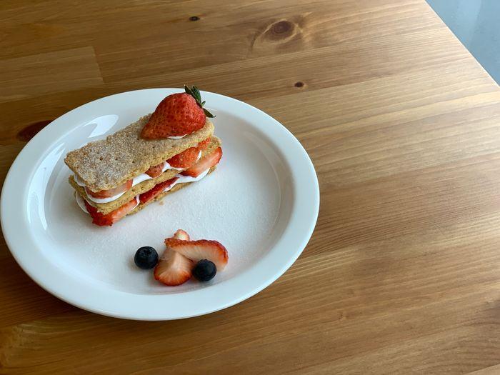 Basement Cafe/新竹韓系質感咖啡館/新竹公道五路推薦早午餐下午茶咖啡廳/草莓千層派
