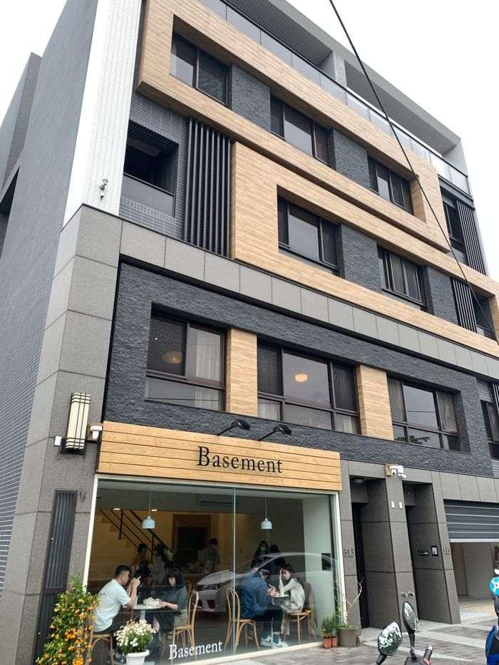 Basement Cafe/新竹韓系質感咖啡館/新竹公道五路推薦早午餐下午茶咖啡廳/店家外觀