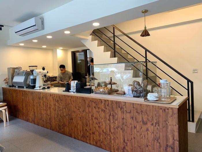 Basement Cafe/新竹韓系質感咖啡館/新竹公道五路推薦早午餐下午茶咖啡廳/櫃台