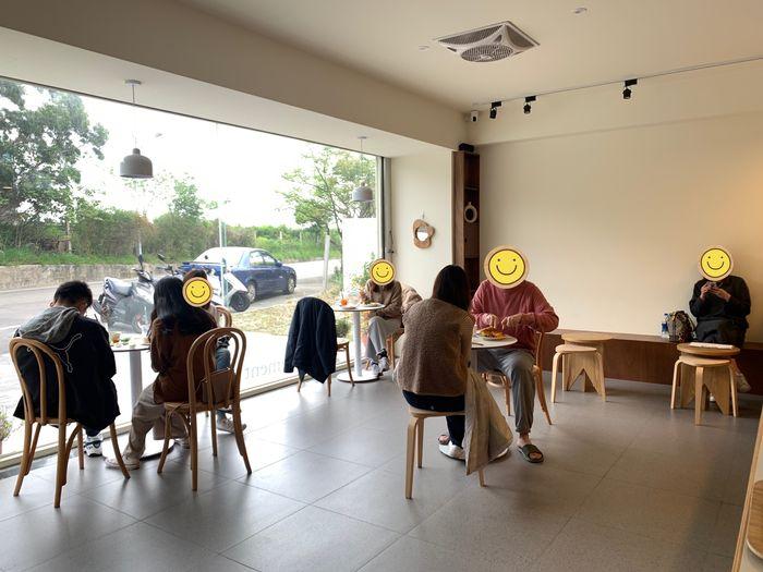 Basement Cafe/新竹韓系質感咖啡館/新竹公道五路推薦早午餐下午茶咖啡廳/一樓內用區域
