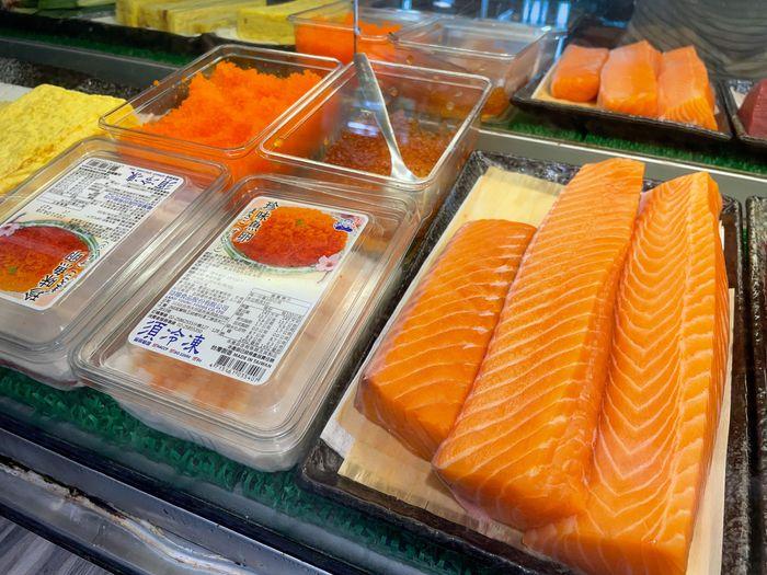 [新竹美食]魚町日式丼飯/東大路二段170號/超好吃鯖魚/推薦平價日式料理店/鮭魚卵