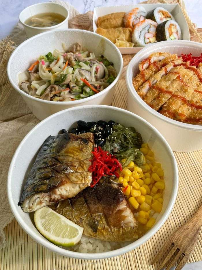 [新竹美食]魚町日式丼飯/東大路二段170號/超好吃鯖魚/推薦平價日式料理店/防疫便當