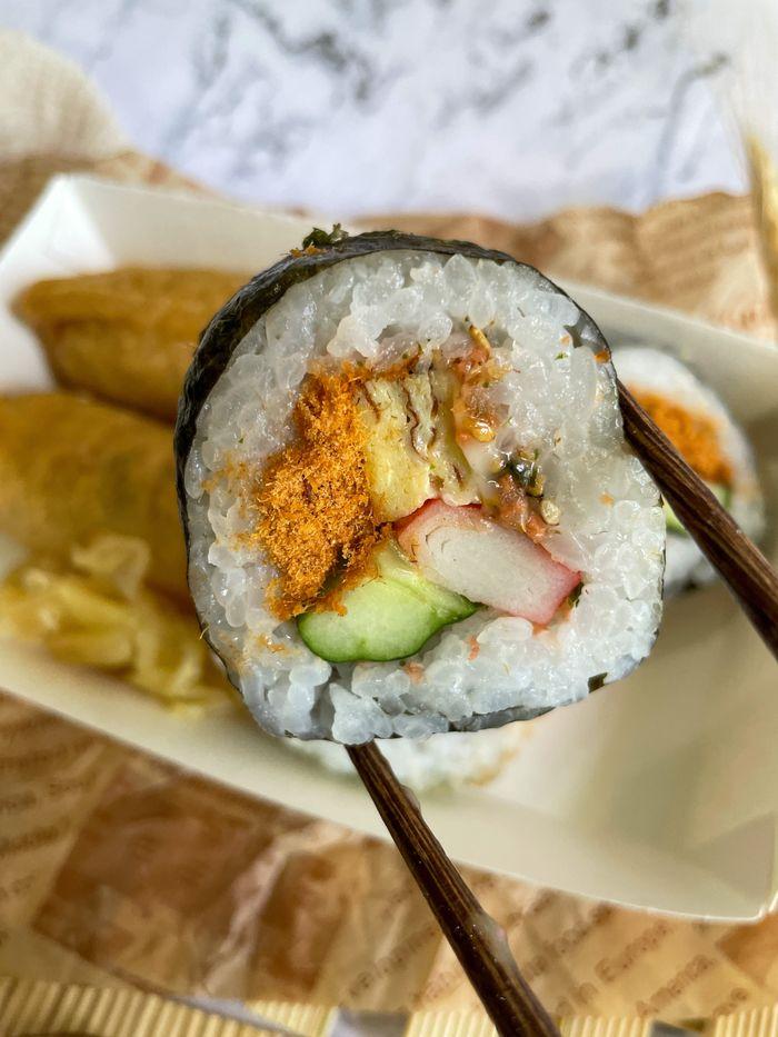 [新竹美食]魚町日式丼飯/東大路二段170號/超好吃鯖魚/推薦平價日式料理店/花壽司