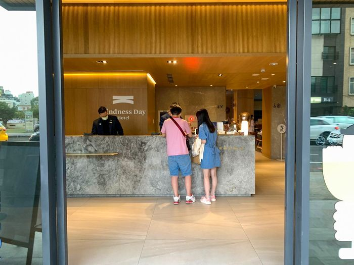 [台南住宿]康橋慢旅/中西區靠近安平飯店推薦/臺南旅遊早餐停車/一樓大廳LOBBY