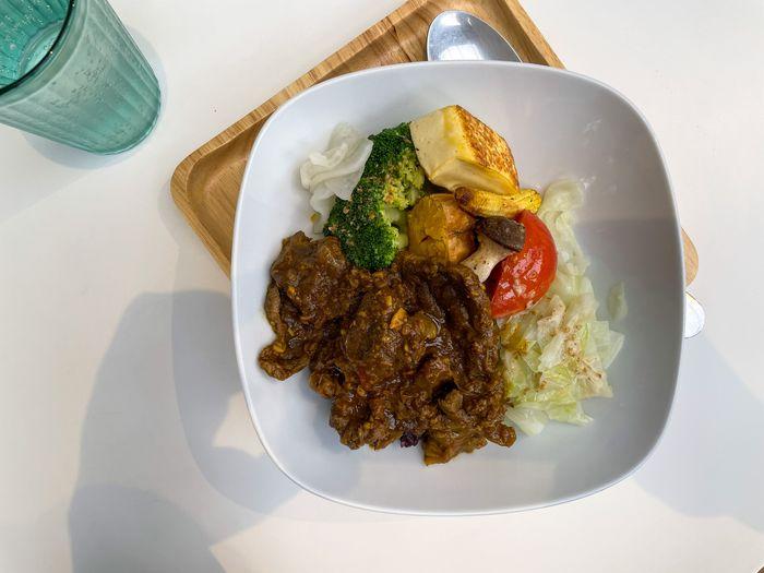 [新竹竹北健康餐]廚師流浪/好吃不無聊的高蛋白低GI健康餐盒/招牌巴東牛肉